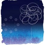 20140726 輪が重なる江戸の花。