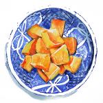 20140916 水彩食べ物ブログを開設。